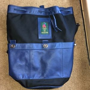 WOMANS COACH OLYMPIC BAG 1996